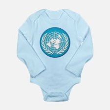 The United Nations Long Sleeve Infant Bodysuit