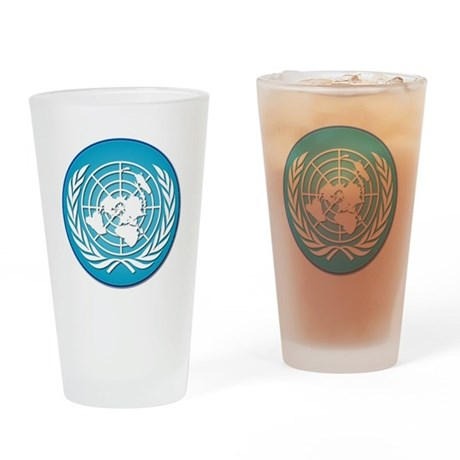The United Nations Drinking Glass