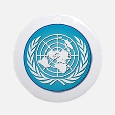 The United Nations Ornament (Round)