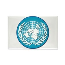 The United Nations Rectangle Magnet