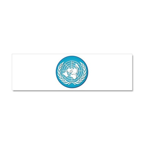The United Nations Car Magnet 10 x 3