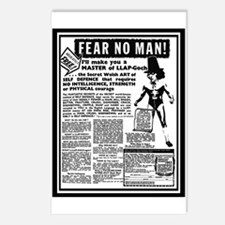 Fear No Man! Postcards (Package of 8)