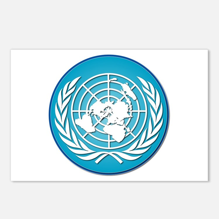 The United Nations Postcards (Package of 8)