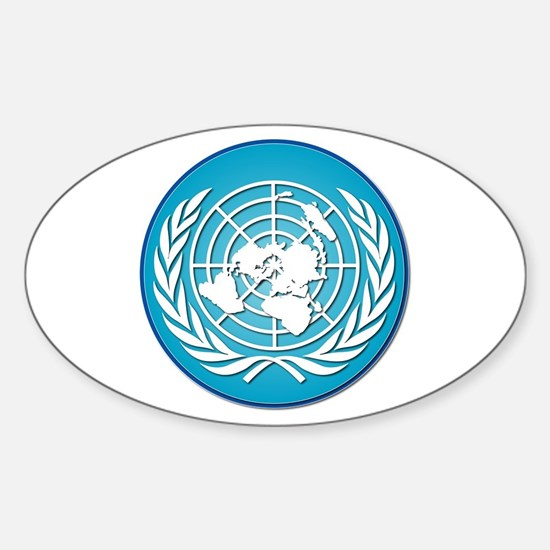 The United Nations Sticker (Oval)