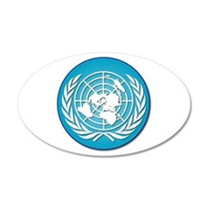 The United Nations 20x12 Oval Wall Decal