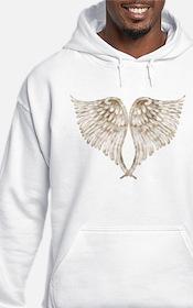 Golden Angel Wings Hoodie