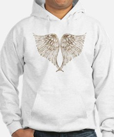 Golden Angel Wings Jumper Hoody