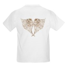 Golden Angel Wings T-Shirt