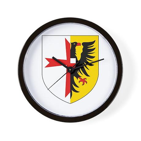 5 Schnellbootgeschwader Wappen Wall Clock