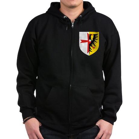 5 Schnellbootgeschwader Wappen Zip Hoodie
