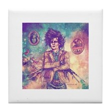 Scissorhands Tile Coaster