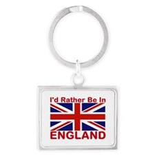 England Lover Keychains
