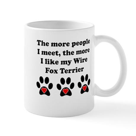 My Wire Fox Terrier Small Mug