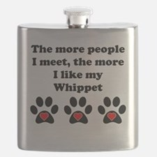 My Whippet Flask