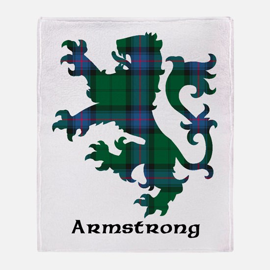Lion - Armstrong Throw Blanket