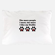 My Staffie Pillow Case