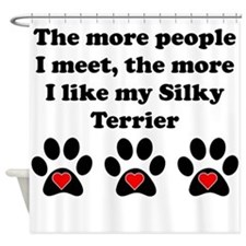 My Silky Terrier Shower Curtain