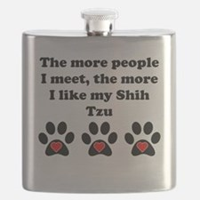 My Shih Tzu Flask