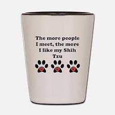 My Shih Tzu Shot Glass