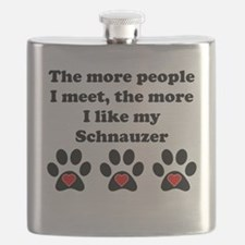 My Schnauzer Flask