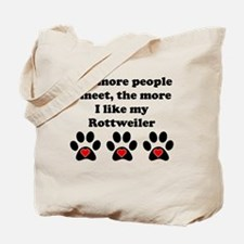 My Rottweiler Tote Bag