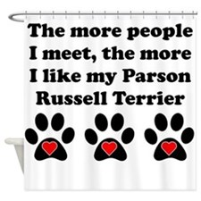 My Parson Russell Terrier Shower Curtain