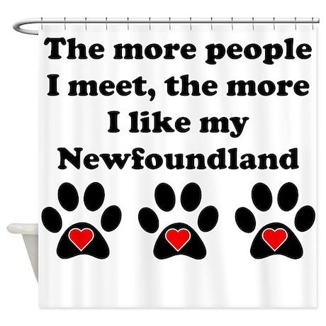 My Newfoundland Shower Curtain