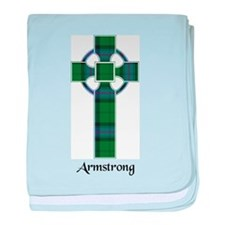 Cross - Armstrong baby blanket