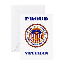Proud Merchant Marine Veteran Greeting Card