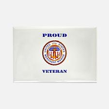 Proud Merchant Marine Veteran Rectangle Magnet