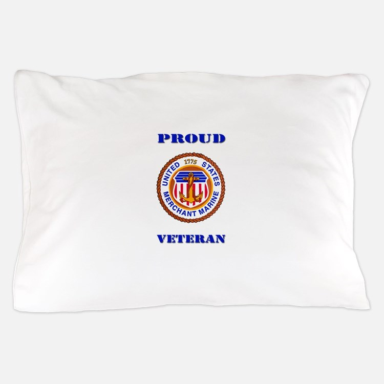 Proud Merchant Marine Veteran Pillow Case