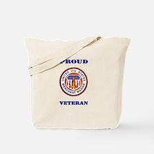 Proud Merchant Marine Veteran Tote Bag