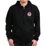 Merchant marine Zip Hoodie (dark)