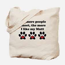 My Mutt Tote Bag