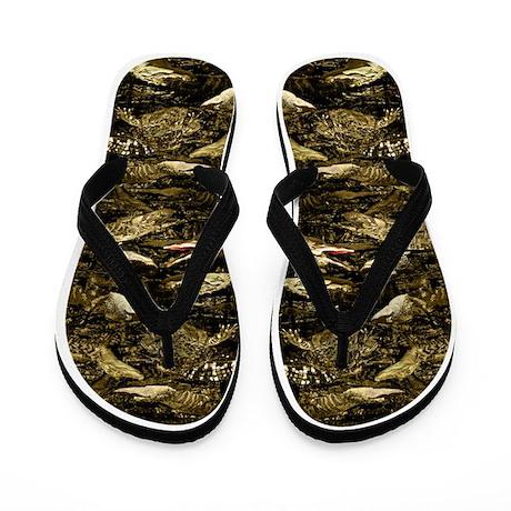 alligators Flip Flops