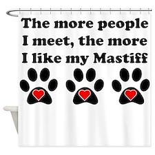 My Mastiff Shower Curtain
