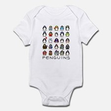 Lots of Penguins Infant Bodysuit