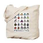Lots of Penguins Tote Bag