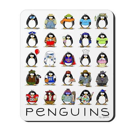 Lots of Penguins Mousepad