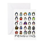 Lots of Penguins Greeting Cards (Pk of 10)