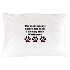 My Irish Wolfhound Pillow Case