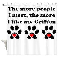 My Griffon Shower Curtain