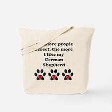 My German Shepherd Tote Bag