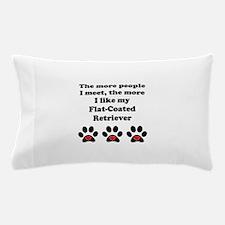 My Flat-Coated Retriever Pillow Case