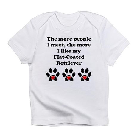 My Flat-Coated Retriever Infant T-Shirt