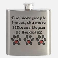 My Dogue de Bordeaux Flask
