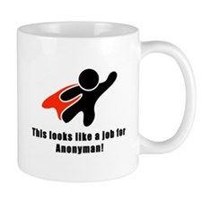 Anonyman to the Rescue Mug