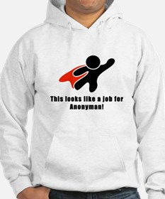 Anonyman to the Rescue Hoodie