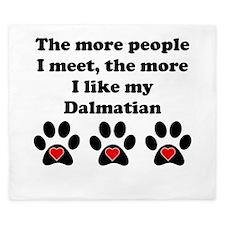 My Dalmatian King Duvet