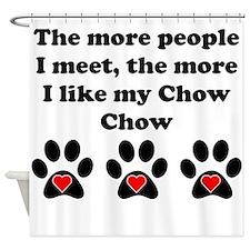 My Chow Chow Shower Curtain